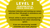 Article image: COVID-19: Volunteering during Level 2