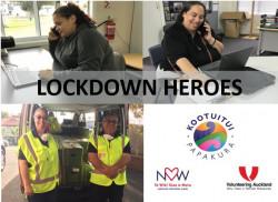Lockdown Heroes - Kootuitui ki Papakura