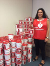Volunteering with a big heart