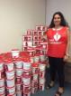 Volunteering with a big heart